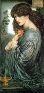 Dante Gabriel Rossetti _ Persephone