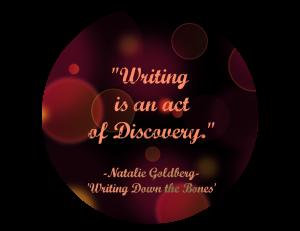 Goldberg Writing Quote