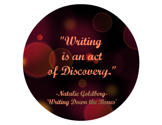 Goldberg Writing Quote