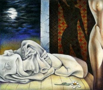 Sleeping Bed by RezoKaishauri