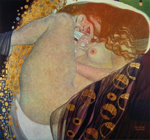 Danae - Gustav Klimt