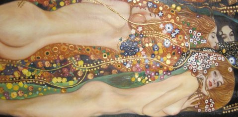 Water Serpents II - Gustav Klimt