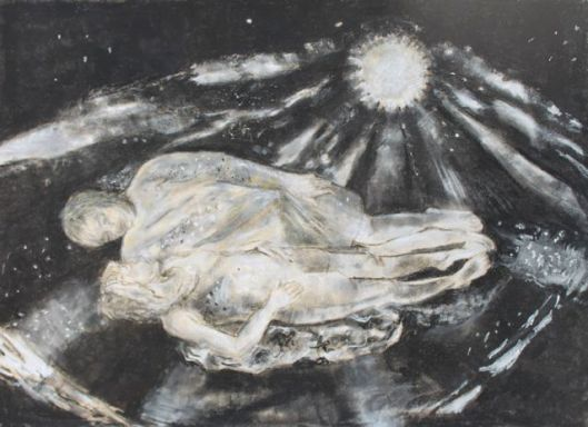We are All Made of Stars - Pastel by Elizabeth Kenney