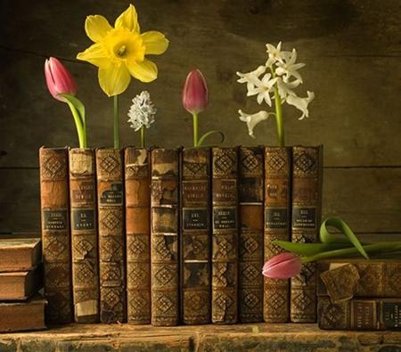 Words bloom flowers