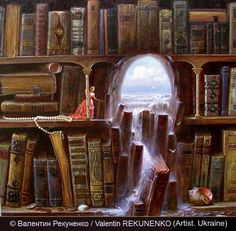 Books as doors to other worlds